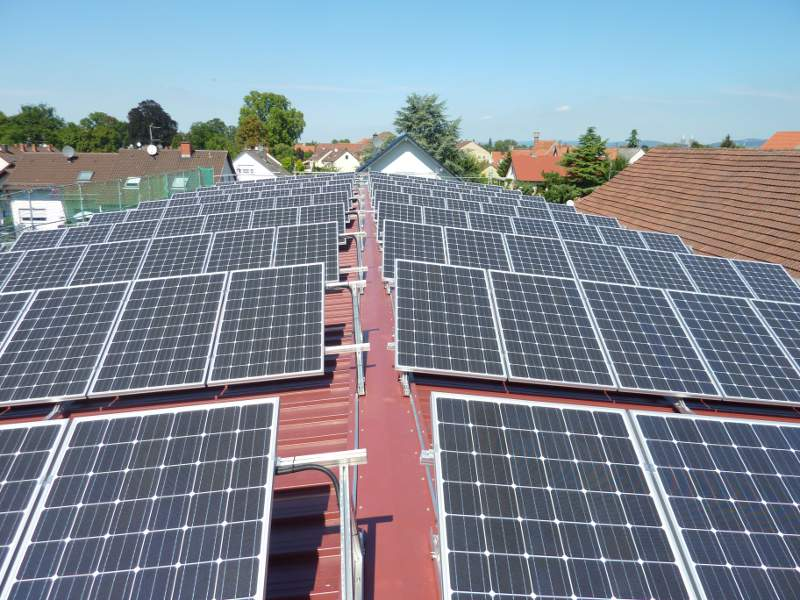 Fotovoltaikanlage 1