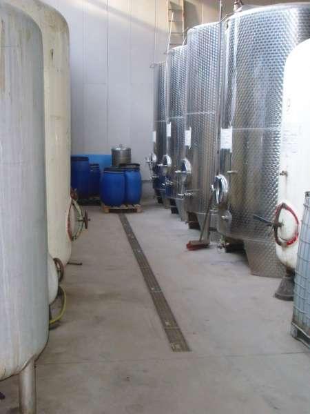 Apfelsaft Lagertanks